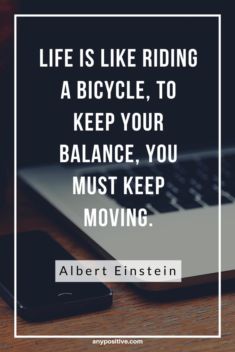 Move On Quotes - Einstein